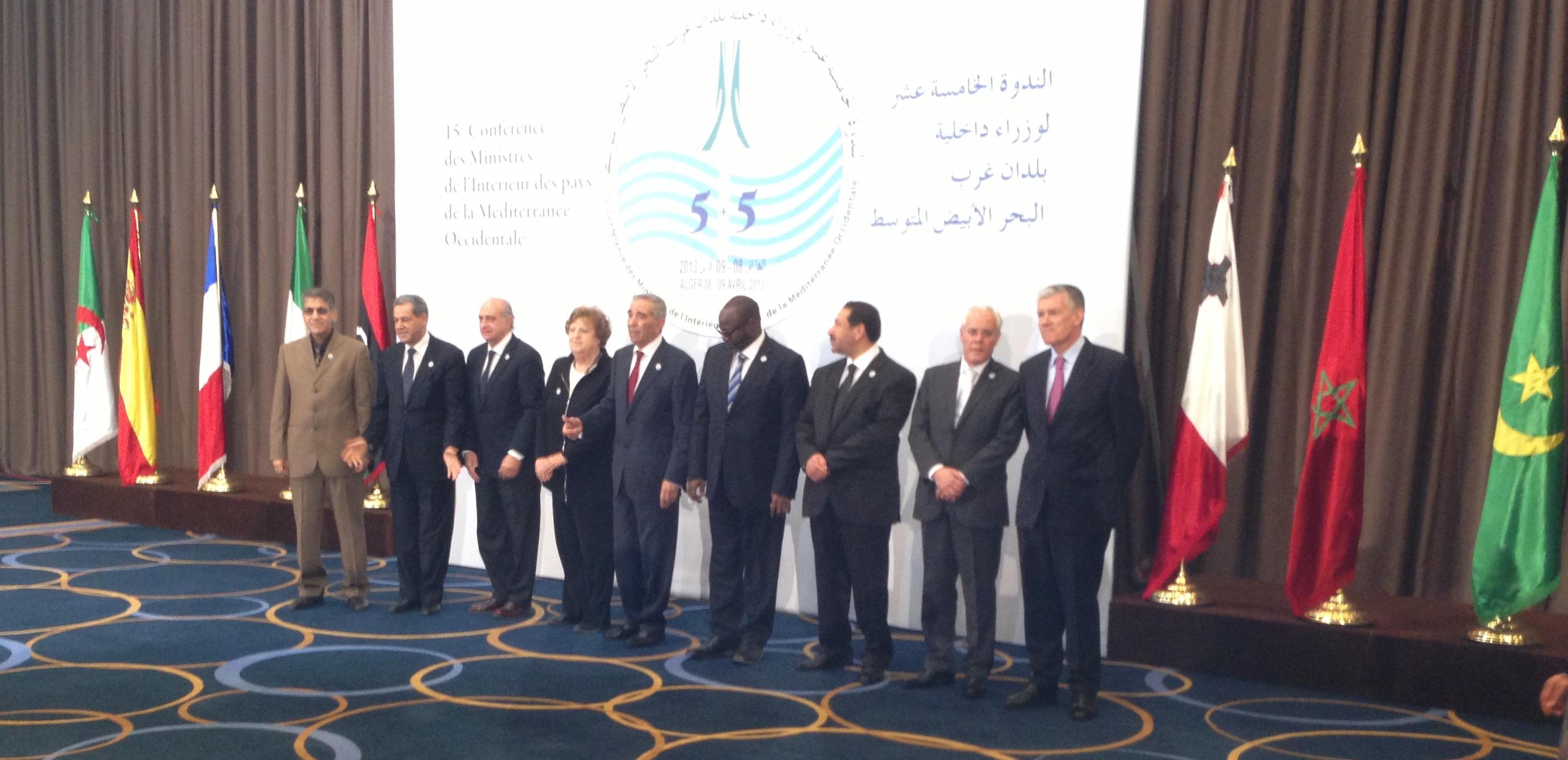 Los ministros del interior de espa a portugal francia for Ministros interior espana